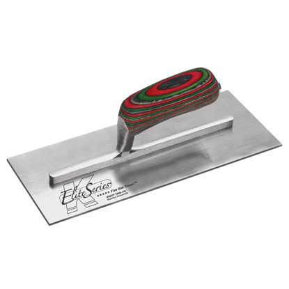 "Picture of Elite Series Five Star™ 13"" x 5"" Carbon Steel Plaster Trowel with Laminated WoodHandle"