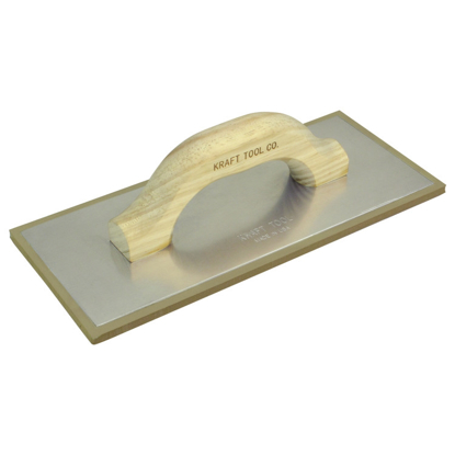 "Picture of 12"" x 4"" Non-Porous Grout Float with Wood Handle"