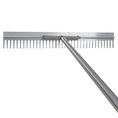 "Picture of 36"" Aluminum Landscape and Asphalt Rake with Handle"