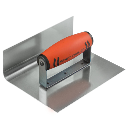 "Picture of 6"" x 4""  1""R Inside Curb & Sidewalk Tool with ProForm® Handle"