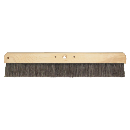 "Picture of 36"" Wood Horsehair Concrete Finishing Broom Head"