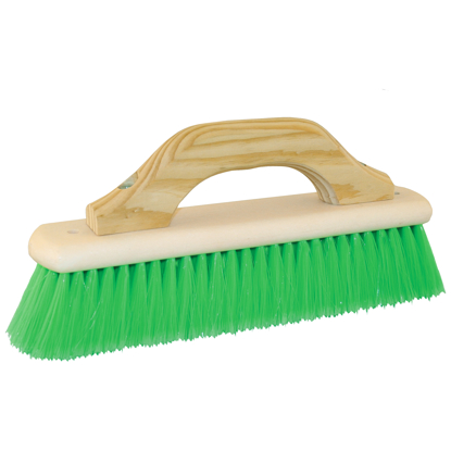 "Picture of 12"" Nylex® Pool Finish Brush with Wood Handle"