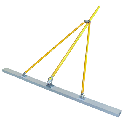 "Picture of Gator Tools™ 8' x 2"" x 4"" Diamond XX™ Paving Float Kit with Bracket, Out Riggers, & 3 Handles"
