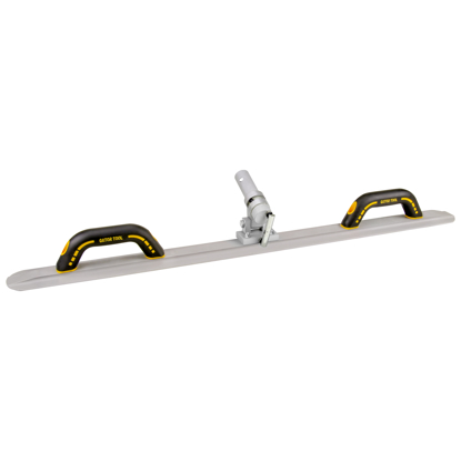 "Picture of Gator Tools™ 42"" Round End GatorLoy™ Hand & Curb Darby with Mini Adjustable Bracket"
