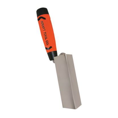 "Picture of 3-1/8"" x 3/4"" Stainless Steel Inside Corner Trowel with ProForm® Handle"