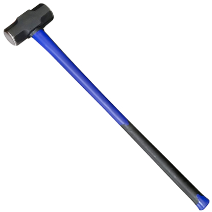 "Picture of 10 lb. Double-Faced Sledge Hammer with 36"" Fiberglass Handle"