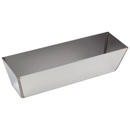 "Picture of 18"" Heli-Arc Stainless Steel Mud Pan"