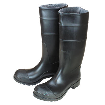 "Picture of 16"" Black Over-The-Sock Construction Boots - Size 9"