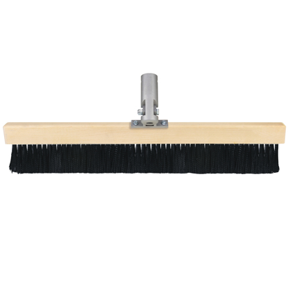 "Picture of Gator Tools™ 24"" Coarse .022"" Poly Broom with Single Tilt Bracket"