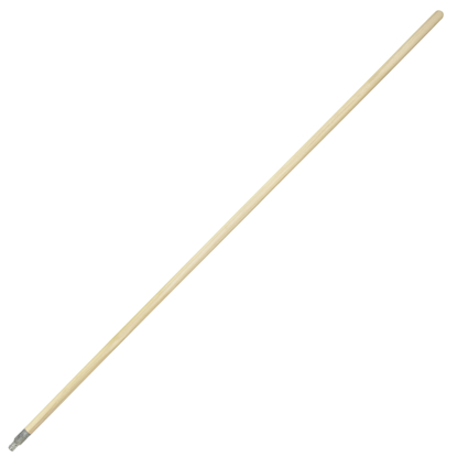 Picture of 5' Metal Thread Wood Broom Handle